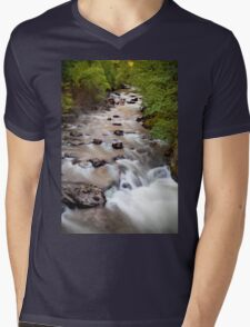 Welsh Rapids Mens V-Neck T-Shirt