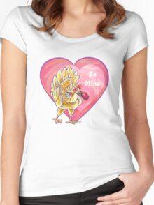 Chicken Valentine's Day Women's Fitted Scoop T-Shirt