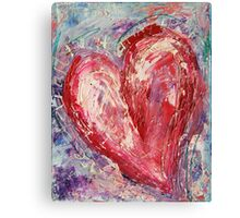 Eternally in My Heart Canvas Print
