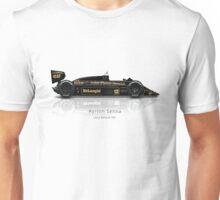 Ayrton Senna - Lotus 98T Unisex T-Shirt