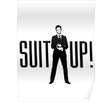 Barney Its Time Suit up Poster