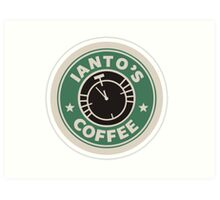 Torchwood Ianto's Coffee Art Print