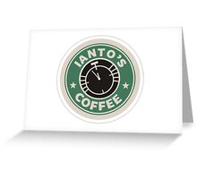 Torchwood Ianto's Coffee Greeting Card