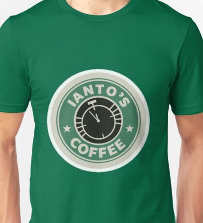 Torchwood Ianto's Coffee Unisex T-Shirt