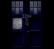 Tardis 221B by antigravity