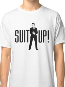 Barney Its Time Suit up Classic T-Shirt