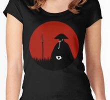 Meditating Warrior Women's Fitted Scoop T-Shirt