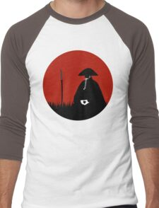 Meditating Warrior Men's Baseball ¾ T-Shirt