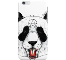 Satanic Panda iPhone Case/Skin