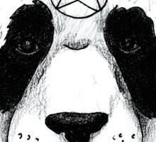 Satanic Panda Sticker