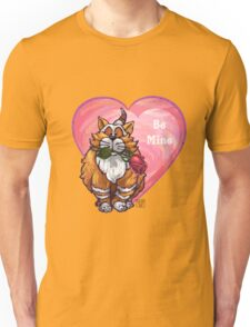 Ginger Cat Valentine's Day Unisex T-Shirt