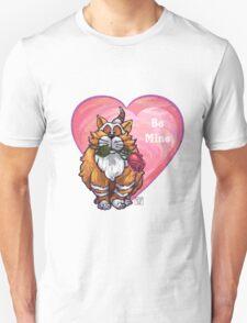 Ginger Cat Valentine's Day Unisex T-Shirt
