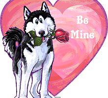 Husky Valentine's Day by ImagineThatNYC