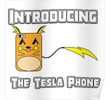 The Tesla Phone! Poster