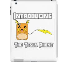 The Tesla Phone! iPad Case/Skin