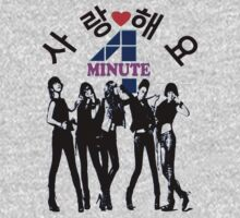 ♥♫SaRangHaeYo(Love) Hot Fabulous K-Pop Girl Group-4Minute Cool K-Pop Clothes & Phone/iPad/Laptop/MackBook Cases/Skins & Bags & Home Decor & Stationary♪♥ One Piece - Long Sleeve