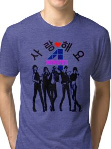 ♥♫SaRangHaeYo(Love) Hot Fabulous K-Pop Girl Group-4Minute Cool K-Pop Clothes & Phone/iPad/Laptop/MackBook Cases/Skins & Bags & Home Decor & Stationary♪♥ Tri-blend T-Shirt