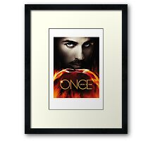 Captain Hook OUAT. Underworld. Framed Print