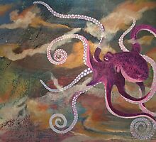 Octopus in the Deep by CaitlinPadilla