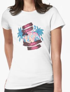 The Beach Life Womens Fitted T-Shirt