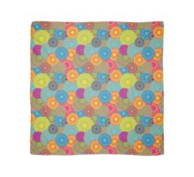 Abstract Seamless Floral Background  Scarf