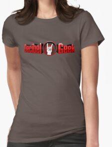 Decibel Geek 3D Logo Womens Fitted T-Shirt