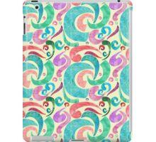 Party Confetti Ribbon Watercolor Design iPad Case/Skin