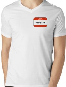 My name is 2187 Mens V-Neck T-Shirt