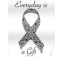 Cancer Ribbon Poster