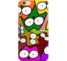 Whos looking at you iPhone Case/Skin