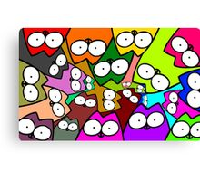 Whos looking at you Canvas Print