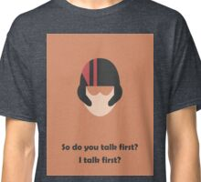 Star Wars - Do you talk first?  Classic T-Shirt