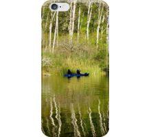 Kayaking Navaro River iPhone Case/Skin