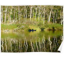 Kayaking Navaro River Poster