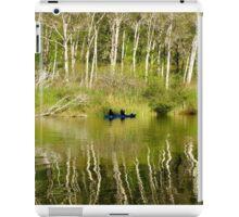 Kayaking Navaro River iPad Case/Skin