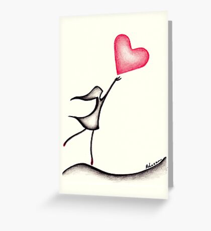 Love Muse #1  Greeting Card