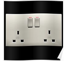 Electrical plug Poster