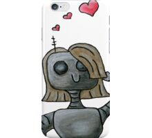 Love On My Mechanical Mind iPhone Case/Skin