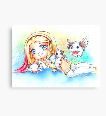 Angel Lux Canvas Print