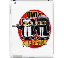 Owls Pulp Fiction iPad Case/Skin