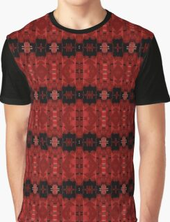 Liquid Light - Red Ribbons Graphic T-Shirt