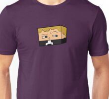 Suspicious Minecraft Character Unisex T-Shirt