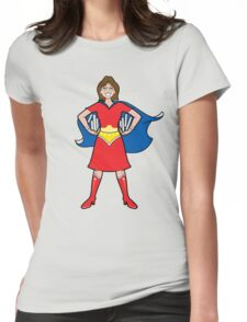 Super librarian! Womens Fitted T-Shirt