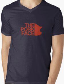 the pork face Mens V-Neck T-Shirt