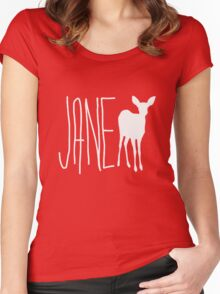 Max Caulfield - Jane Doe Women's Fitted Scoop T-Shirt