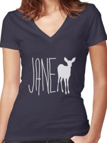 Max Caulfield - Jane Doe Women's Fitted V-Neck T-Shirt