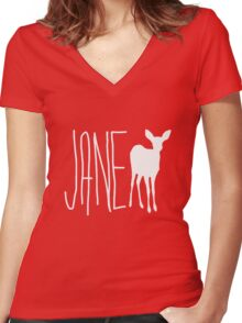 Max Caulfield - Jane Doe Women's Fitted V-Neck T-Shirt