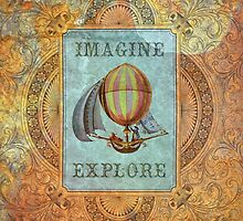 imagine and explore by Jena DellaGrottaglia