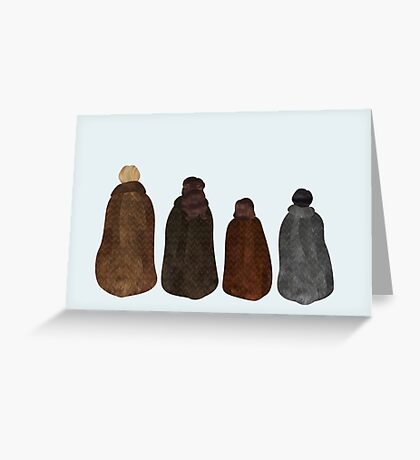 Kings and Queens Greeting Card