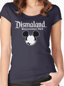 Dismaland Mickey Women's Fitted Scoop T-Shirt
